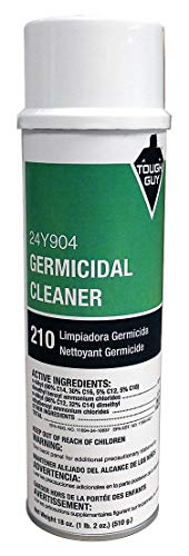 Germicidal Foaming Cleaner, Aerosol, 20oz.