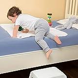 Clevamama Brushed Cotton Waterproof Toilet Training Sleep Mat - 70x90 cm