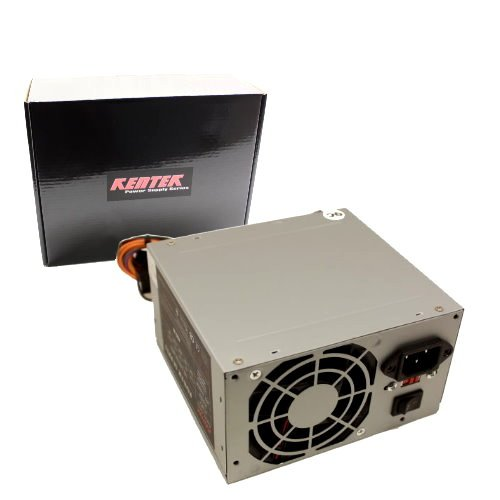 Kentek 400 Watt 400W ATX Power Supply ATX12V SATA 20/24 Pin Intel AMD KENTEK Brand Power - Dvi Fan Ddr2