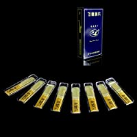 New Flying Goose Bb Tenor Saxophone Clarinet Xaphoon Reeds 2.5 Strength 2 1/2 8pcs By KTOY
