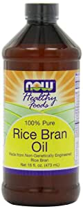 Amazon.com : NOW Foods Rice Bran Oil, 16-Ounce (Pack of 4