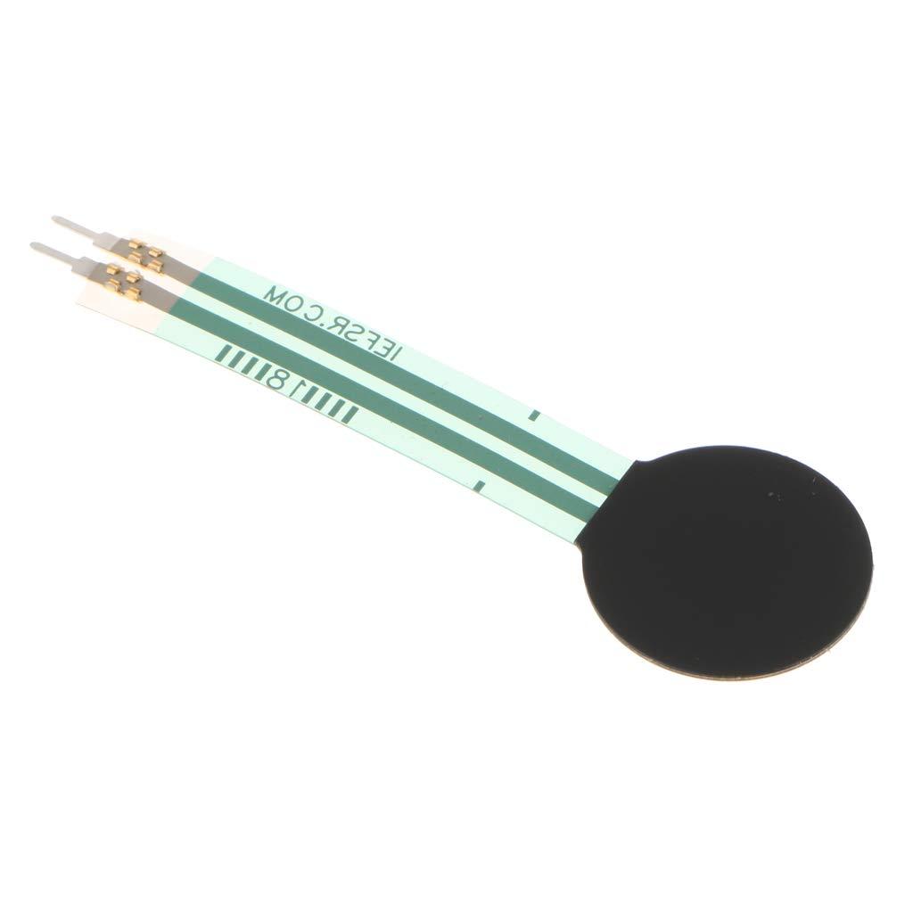 perfk 1pc FSR402 Force Sensing Resistor 1.27cm FSR For Long Tail 0g-10kg DIY Kit