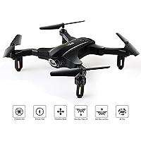 LBLA Mini Foldable RC Drone 2.4Ghz 6-Axis Gyro Altitude Hold RC Quadcopter Black