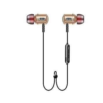 LJXAN Auriculares Bluetooth Deportes Auriculares Bluetooth Deportes Inalámbricos Universales Auriculares Bluetooth Estéreo Auriculares Duales Auriculares ...