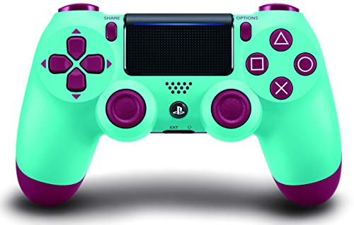 Best Video Game Controller - DualShock 4 Wireless Controller for PlayStation 4 - Berry Blue
