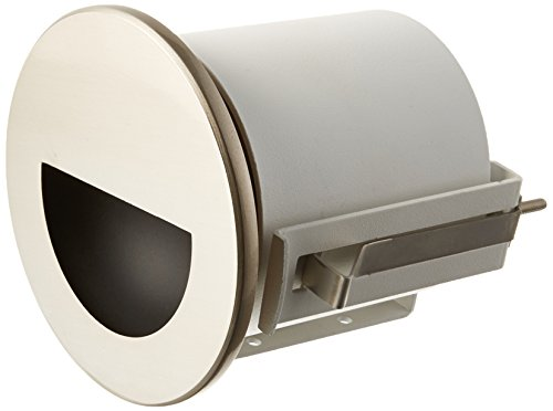 WAC Lighting WL-LED300-BL-BN LED Step Light Circular Scoop with Blue by WAC Lighting (Image #1)