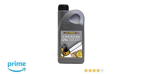 Silverhook shcr1 ISO 100 Motosierra Aceite, 1 Liter: Amazon.es ...