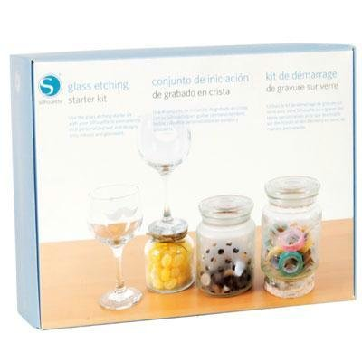 Silhouette America KIT-GLASS-3T Glass Etching Starter Kit by Silhouette America