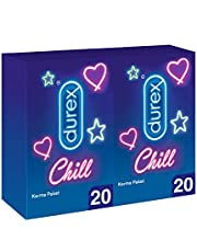 Durex Chill Karma Prezervatif, 40'lı Ekstra Avantaj Paketi (2 x 20 Adet)