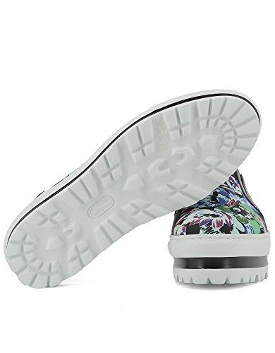 2241Mds08007 Mujer MSGM Tela On Zapatillas Slip pRnnUdW