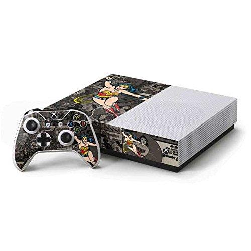 Wonder Woman Xbox One S Console and Controller Bundle Skin - Wonder Woman Mixed Media | DC Comics X Skinit Skin
