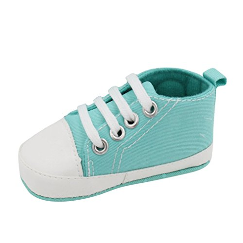 Baby Boys And Girls Shoes Kids Children Sneakers Infantil Soft Bottom First Walkers Green 3 by Childlordyi (Image #1)