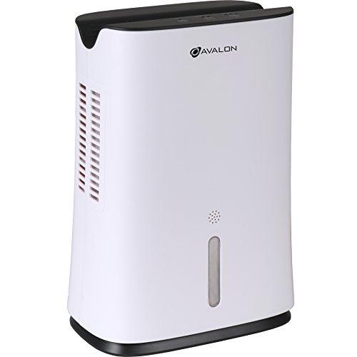 Avalon Mini Dehumidifier With Thermo-Electric Peltier Module Technology, White ()