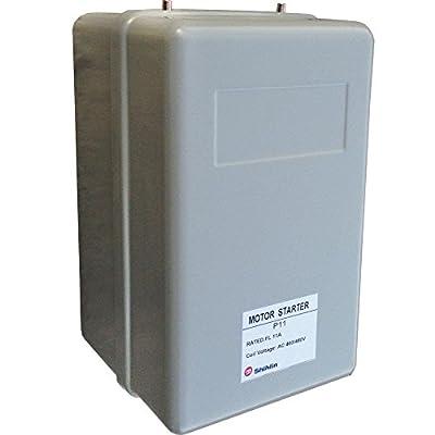 5 HP Three Phase Magnetic Starter Motor Control,11 Amp, 460V