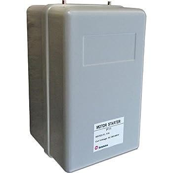 shihlin 10 hp 3 phase magnetic starter motor control 208. Black Bedroom Furniture Sets. Home Design Ideas