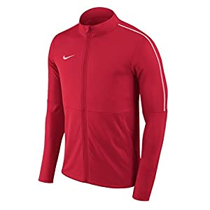 Nike Park 18 Knit Track Jacket Men's (University Red, L)