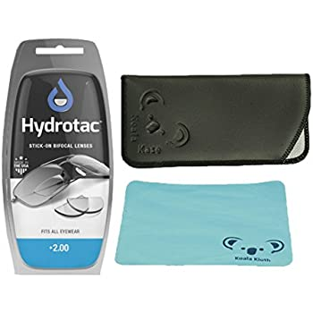 c109b4e06c Amazon.com  HYDROTAC STICK-ON BIFOCAL LENSES (1.25)  Clothing