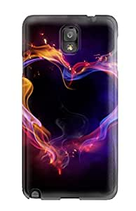 Durable Defender Case For Galaxy Note 3 Tpu Cover(best Love Ever )