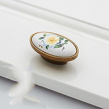 DaMonicv Antik Messing Schublade Schranktüren im europäischen Stil ...