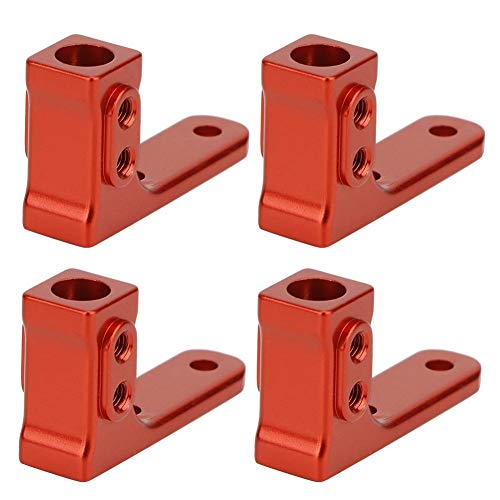 Woyisisi Side Step Pedal Mount Fits for HPI Venture Crawler Car RC Truck Upgrade Parts(B116841R red)