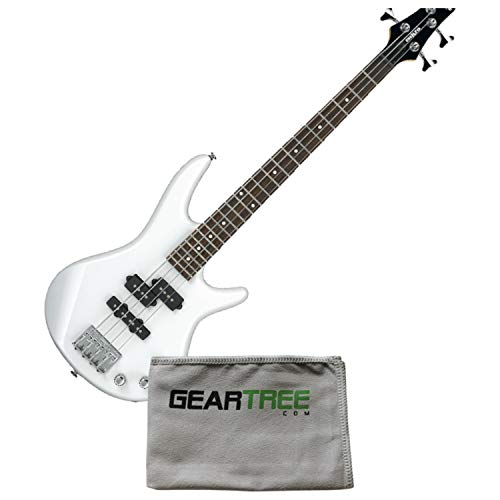 Ibanez GSRM20 PW Pearl White Mikro Compact 4-String Electric Bass Guitar w/Poli