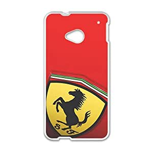 Happy Ferrari sign fashion cell phone case for HTC One M7
