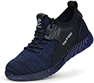 TQGOLD Safe Work Shoes for Men and Women Industrial & Construction Anti-Puncture Breathable Comfortable St