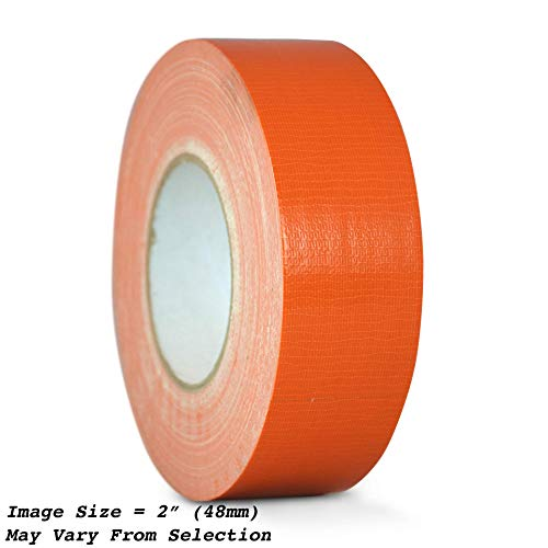 WOD CDT-36 Advanced Strength Industrial Grade Racing Orange Duct Tape, Waterproof, UV Resistant For Crafts & Home Improvement (Available in Multiple Sizes & Colors): 2 in. x 60 yds. (Pack of 1)]()