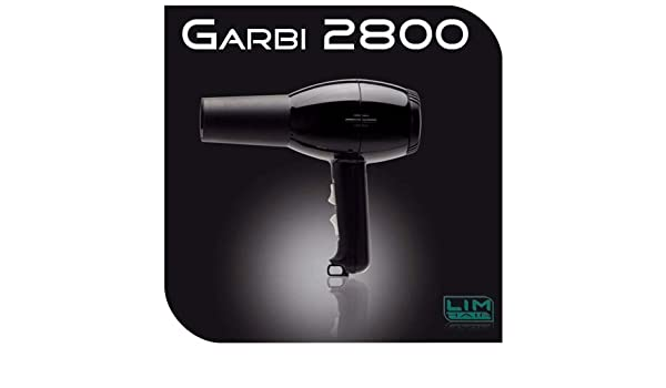 Lim Hair Secador de pelo profesional Garbi 2800 Negro: Amazon.es: Salud y cuidado personal