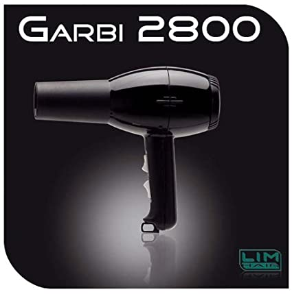 Lim Hair Secador de pelo profesional Garbi 2800 Negro