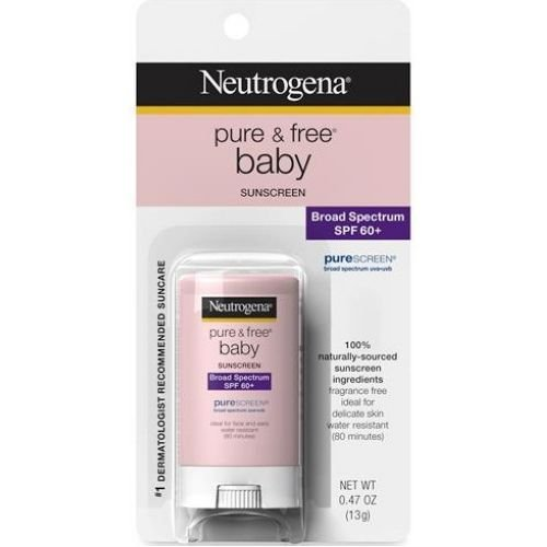 Neutrogena Pure & Free Baby Mineral Sunscreen Stick with Bro