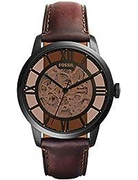 Men's ME3098 Analog Display Automatic Self Wind Brown Watch