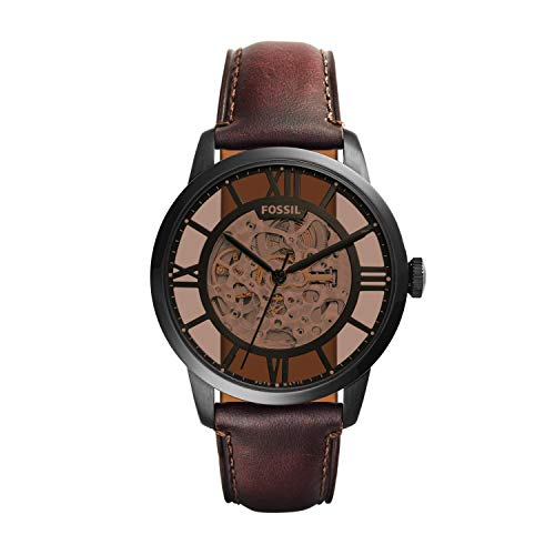 (Fossil Men's ME3098 Analog Display Automatic Self Wind Brown)