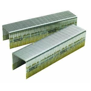 Senco P13BAB 16 Gauge by 1-inch Crown by 1-inch Length Electro Galvanized Staples (10,000 per box) by Senco