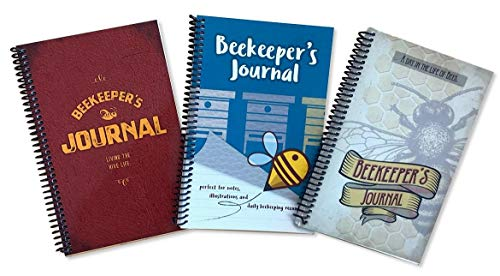 Farmstand Supply Beekeeper's Journals for Hive Inspection w/Detailed Checklist 8.5
