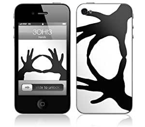 Zing Revolution MS-3OH310133 iPhone 4- 3OH3- Hands Skin