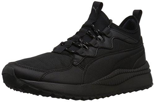 PUMA Men's Pacer Next Mid SB Sneaker, Black Black, 11 M US