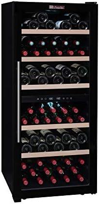 La Sommelière CVD102DZ bodega de FRIO | 102 botellas - Dos zonas de temperatura | Diseño contemporáneo