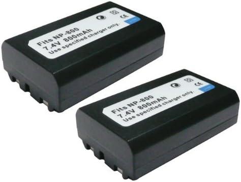 2個セット MINOLTA/ ミノルタ NP-800 互換 バッテリー