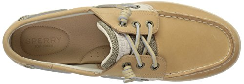 Shoe Women's Songfish Sider Boat Linen Sperry Oat Top Chambray 5YqxEXntn