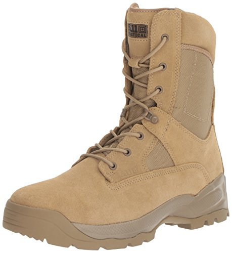 "5.11 Tactical A.T.A.C. 8"" Boot, Coyote, 7.5 (W)"