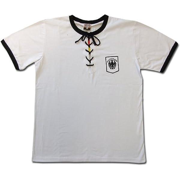 Camiseta retro Alemania 1954: Amazon.es: Deportes y aire libre