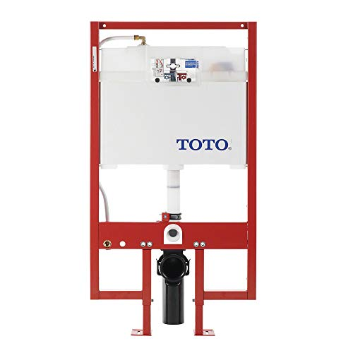 TOTO WT153M#01 DuoFit In-Wall Toilet Tank Dual-Flush System with PEX Supply, Cotton
