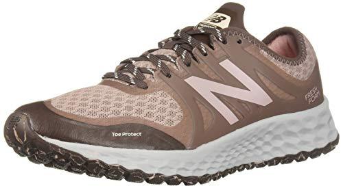 New Balance Women's Kaymin V1 Fresh Foam Trail Running Shoe, Latte/Macchiatto/Himalayan Pink, 7.5 D US