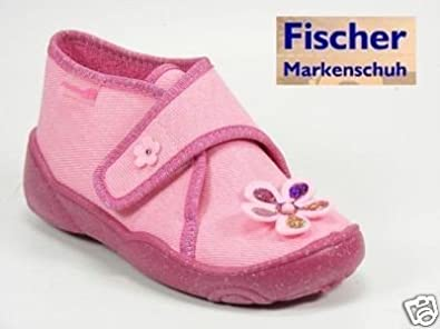 Fischer Kinder Schuhe Hausschuhe Mädchen Gr.26 Maxi: Amazon