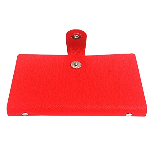 240 Cards Leather Business Name Id Credit Card Holder