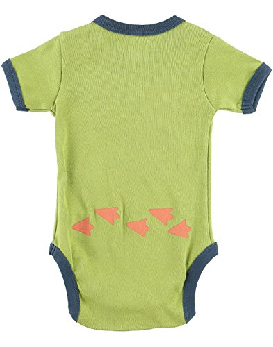 Lazy One Boys Stud Puffin Babygrow Vest