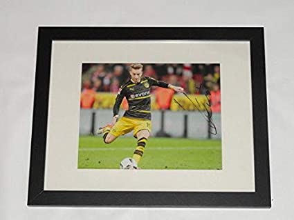 wholesale dealer 5a8c9 e1ac9 Marco Reus Signed Framed & Matted 8x10 Photo World Cup ...