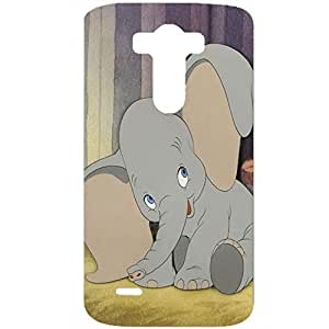 So Cute and Nice Dumbo Plastic 3D Phone Case For LG G3