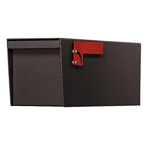 Letter Locker Mailboxes Locking Rear - Jayco LLDBLRURAL Residential Non-Locking Front and Rear Access Letter Locker Mailbox Bronze